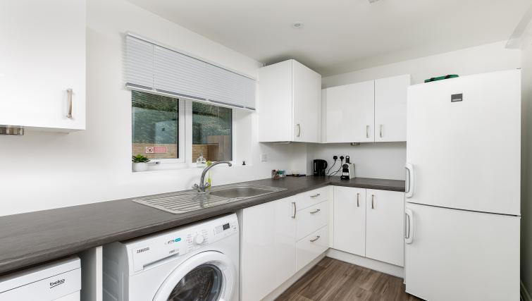 Equipped kitchen at Hertford Serviced Apartments - Citybase Apartments