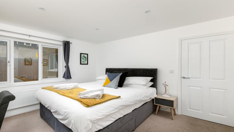 Bedroom at Hertford Serviced Apartments - Citybase Apartments