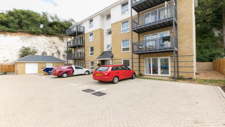 Exterior of Hertford Serviced Apartments - Citybase Apartments