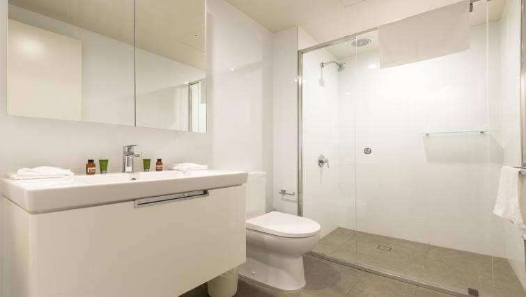 Bathroom at Astra Arena Brisbane Apartments - Citybase Apartments