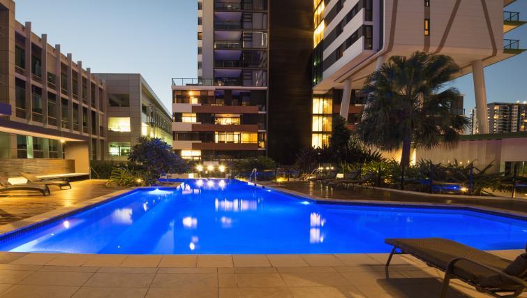 Outdoors at Astra Arena Brisbane Apartments - Citybase Apartments