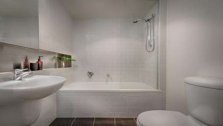 Bathroom at Little Bourke Apartments - Citybase Apartments