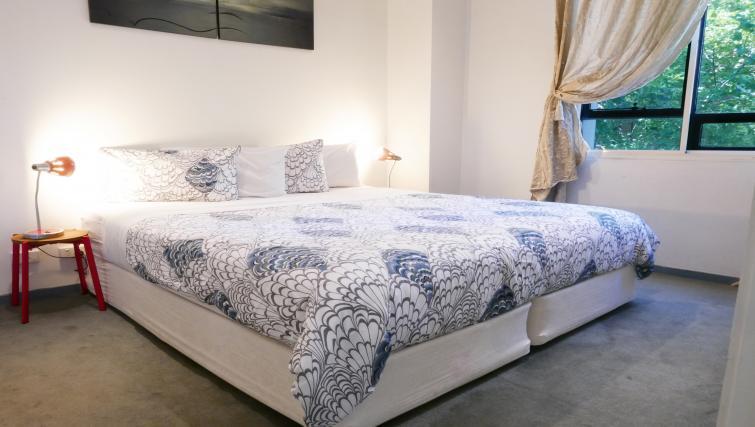 Bedroom at Honey Apartments - Citybase Apartments