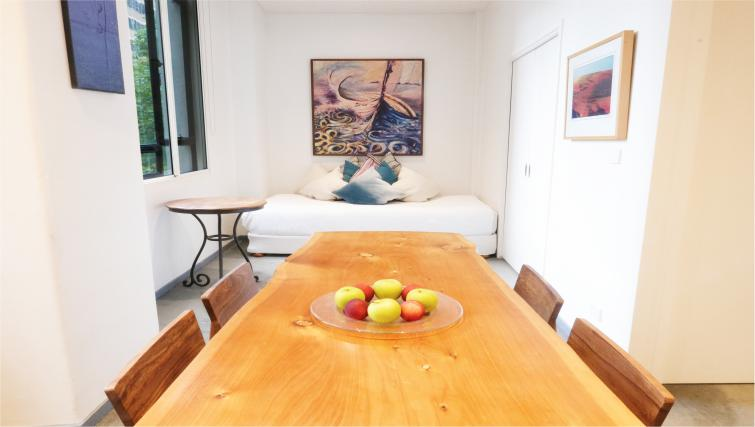 Dining table at Honey Apartments - Citybase Apartments
