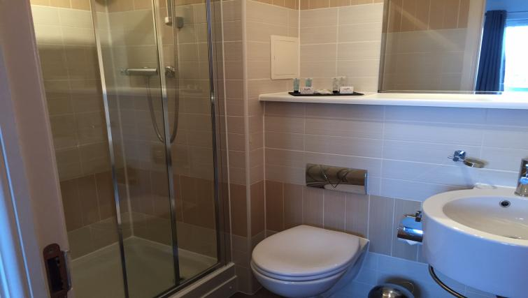 Bathroom area at the Monart Apartment - Citybase Apartments