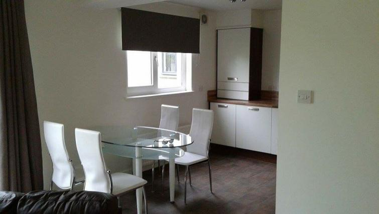 Dining area at the Monart Apartment - Citybase Apartments