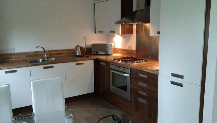 Kitchen at the Monart Apartment - Citybase Apartments