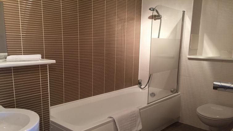 Bathroom at the Monart Apartment - Citybase Apartments