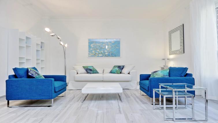 Living room at S. Sebastianello Apartment - Citybase Apartments