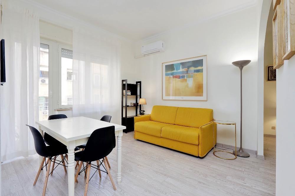 Bed at S. Sebastianello Apartment, Centre, Rome - Citybase Apartments