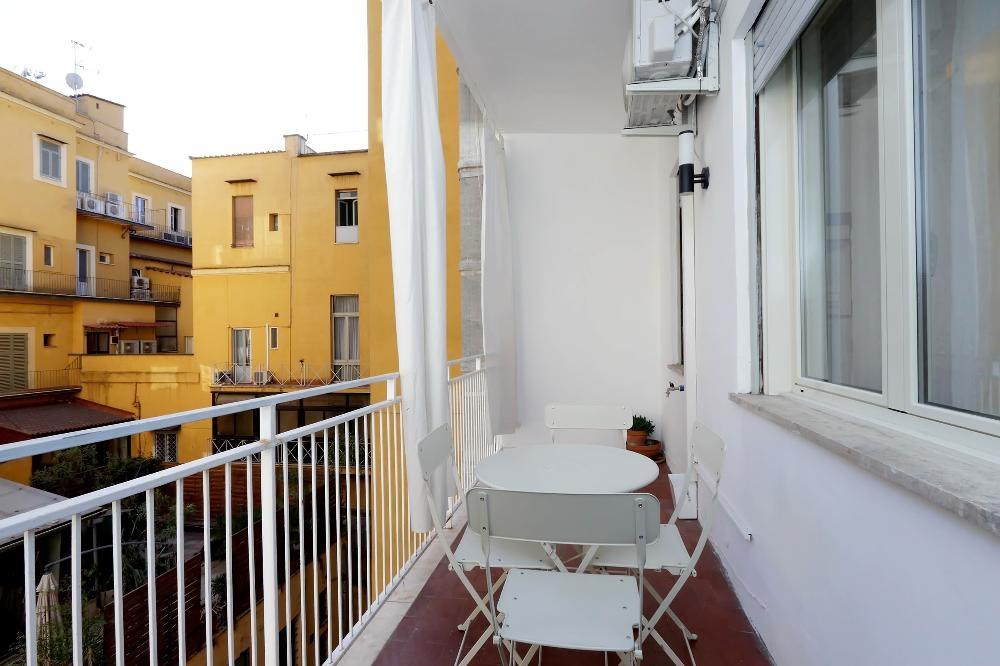 Balcony at S. Sebastianello Apartment, Centre, Rome - Citybase Apartments