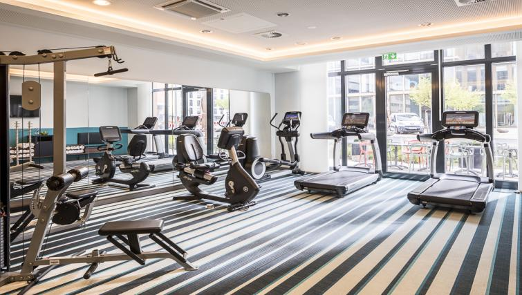 Gym at Europa-Allee Apartments - Citybase Apartments