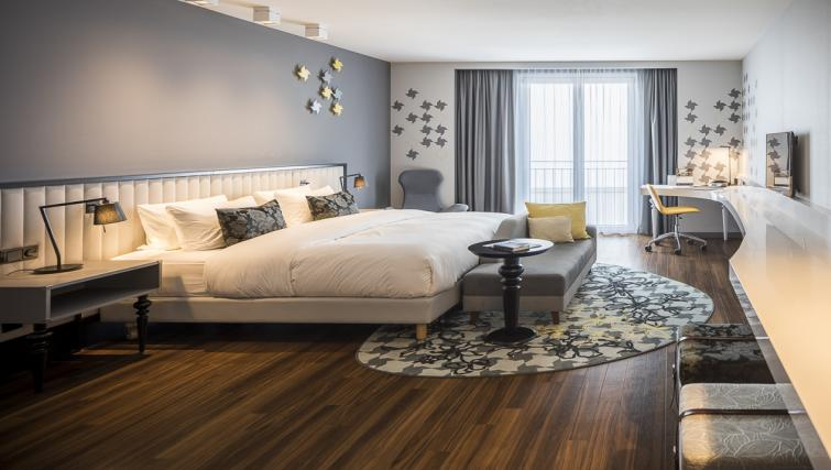 Bedroom at Europa-Allee Apartments - Citybase Apartments