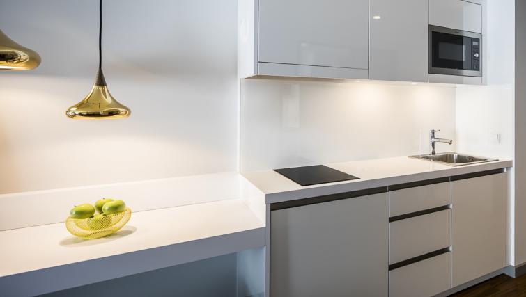 Kitchen at Europa-Allee Apartment - Citybase Apartments