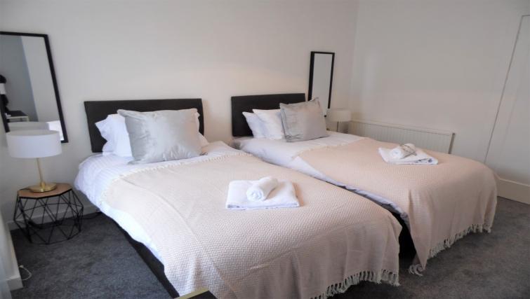 Bedroom at Fitzalan View Apartment - Citybase Apartments