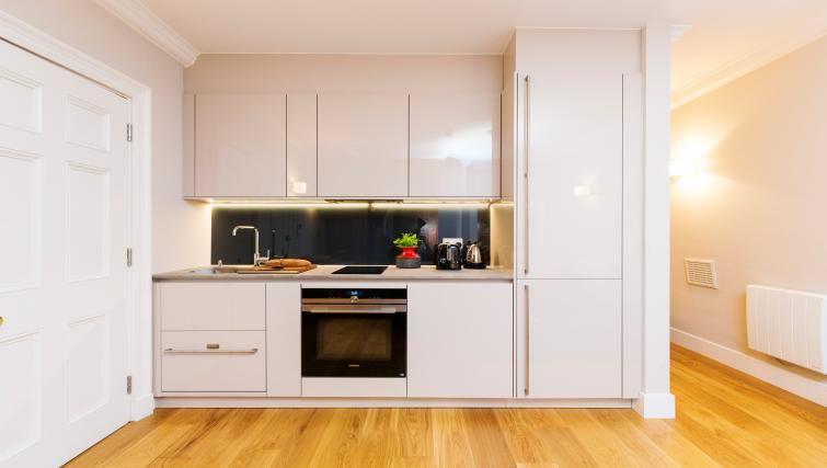 Kitchen at the Native Bank Apartments - Citybase Apartments