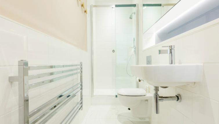 Bathroom at the Native Bank Apartments - Citybase Apartments