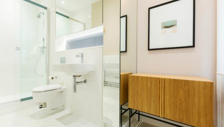 Kitchen facilities at the Native Bank Apartments - Citybase Apartments