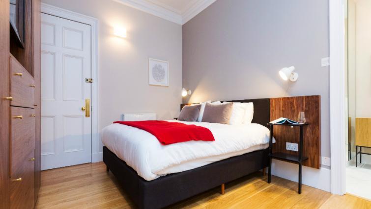Bedroom at the Native Bank Apartments - Citybase Apartments
