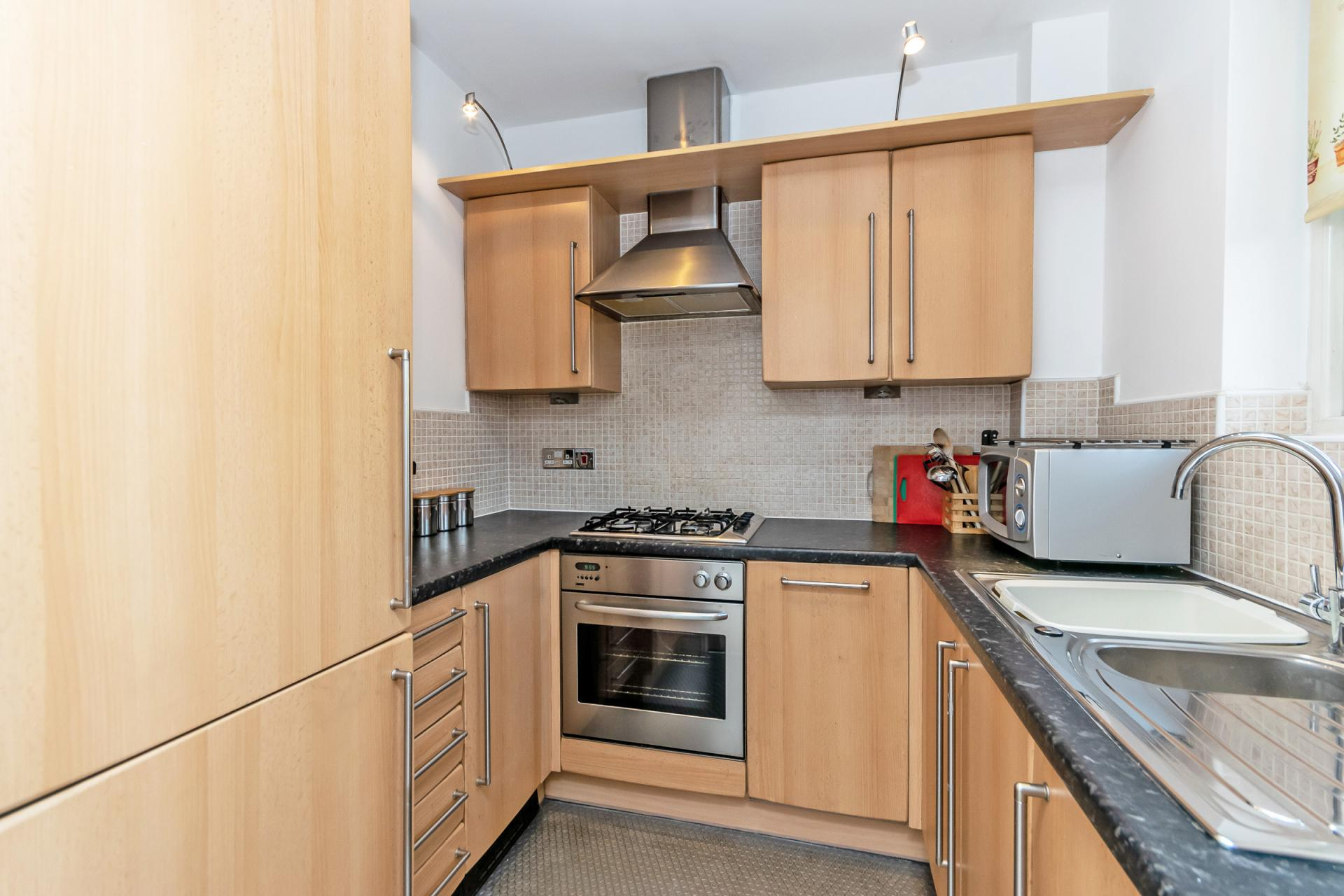 Kitchen at Tower View Apartment - Citybase Apartments