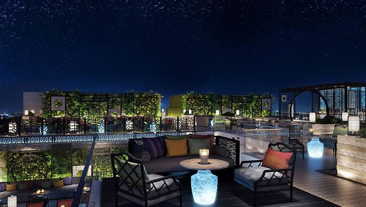 Rooftop area at The Surawongse Apartments - Citybase Apartments