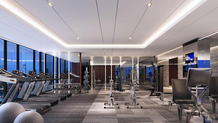 Gym at The Surawongse Apartments - Citybase Apartments