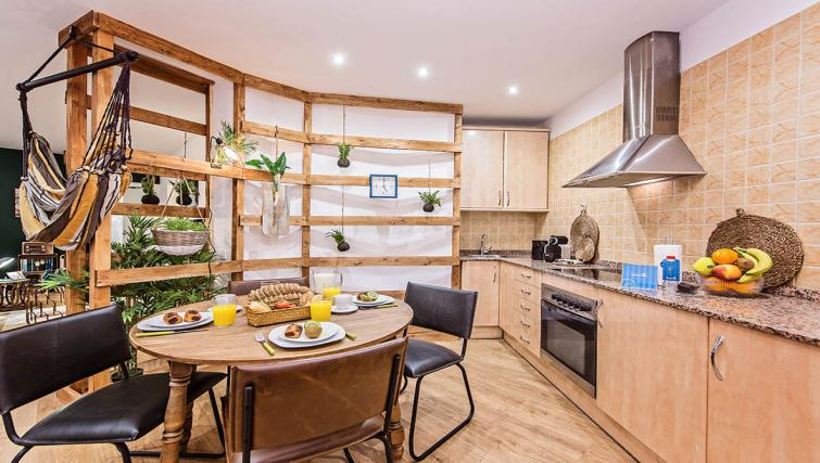 Kitchen at the Tony Apartments - Citybase Apartments