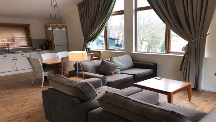 Living area at Broome Park Lodges - Citybase Apartments