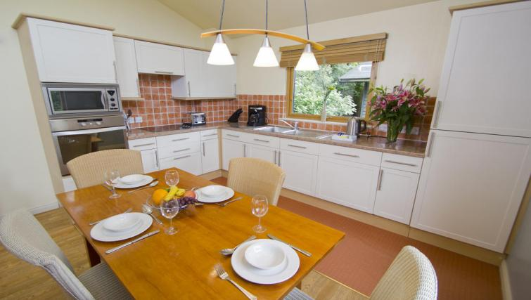 Kitchen at Broome Park Lodges - Citybase Apartments