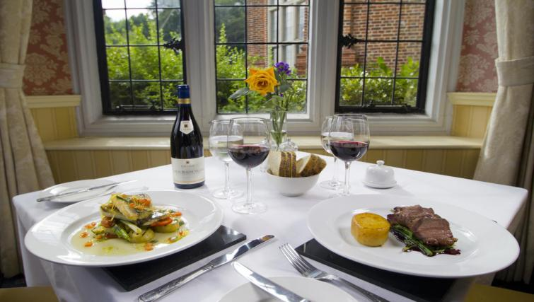 Restaurant at Broome Park Lodges - Citybase Apartments