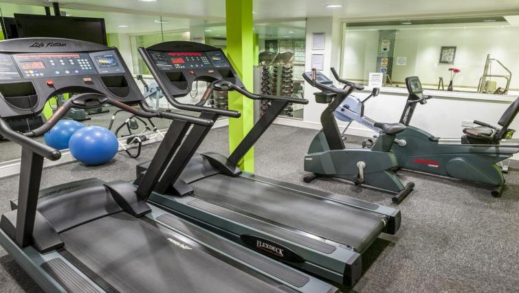 Gym at Broome Park Lodges - Citybase Apartments
