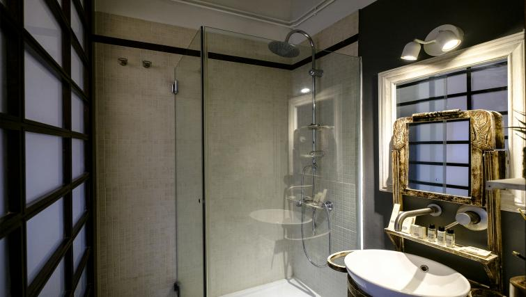 Bathroom at Poblenou Beach Apartment - Citybase Apartments