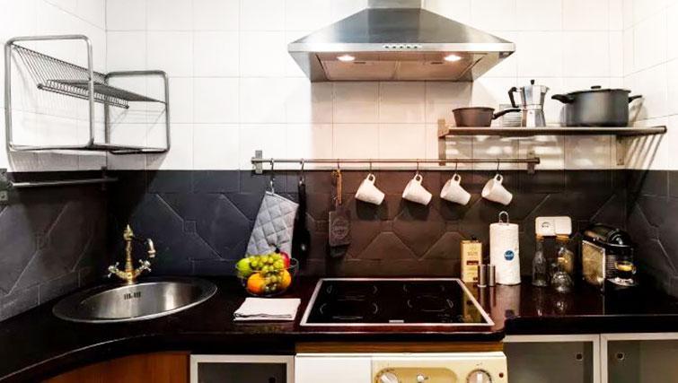 Kitchen at Poblenou Beach Apartment - Citybase Apartments