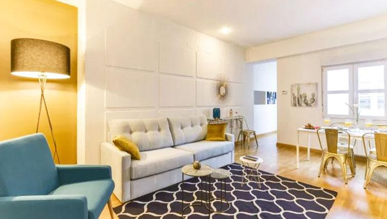 Living area at Desengaño Apartment - Citybase Apartments
