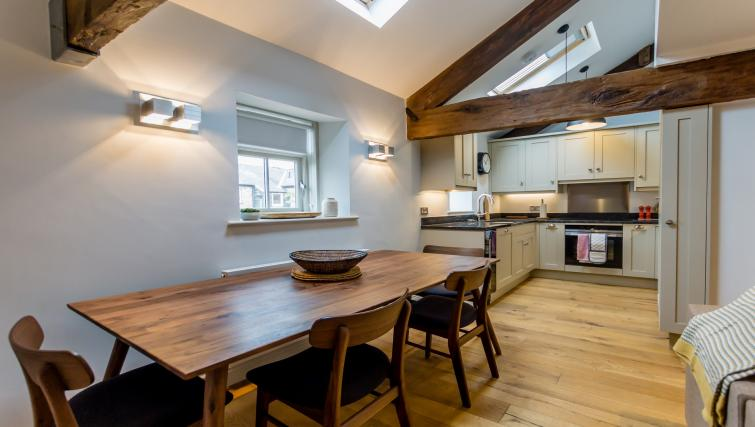 Dining area at Clementhorpe Maltings Apartment - Citybase Apartments