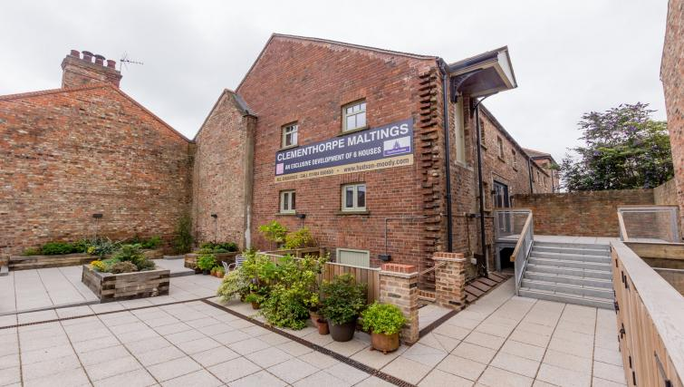 Exterior at Clementhorpe Maltings Apartment - Citybase Apartments