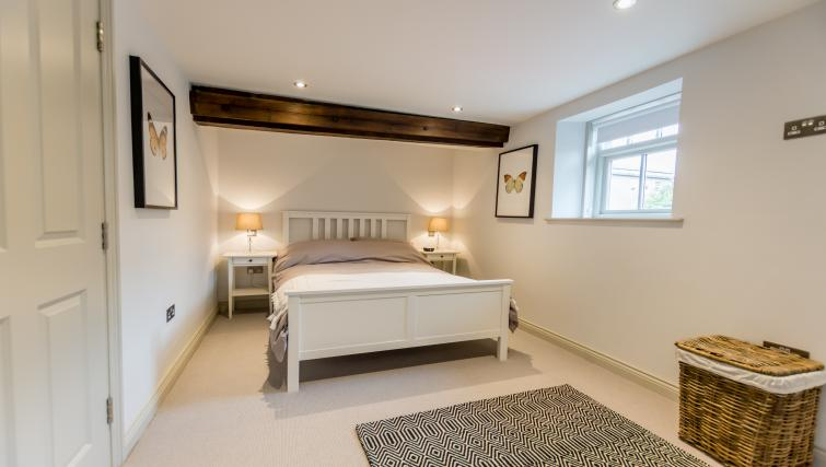 Bed at Clementhorpe Maltings Apartment - Citybase Apartments