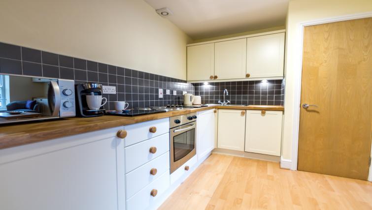 Kitchen at Woodsmill Quay Apartments - Citybase Apartments