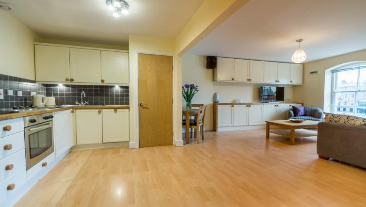living space at Woodsmill Quay Apartments - Citybase Apartments