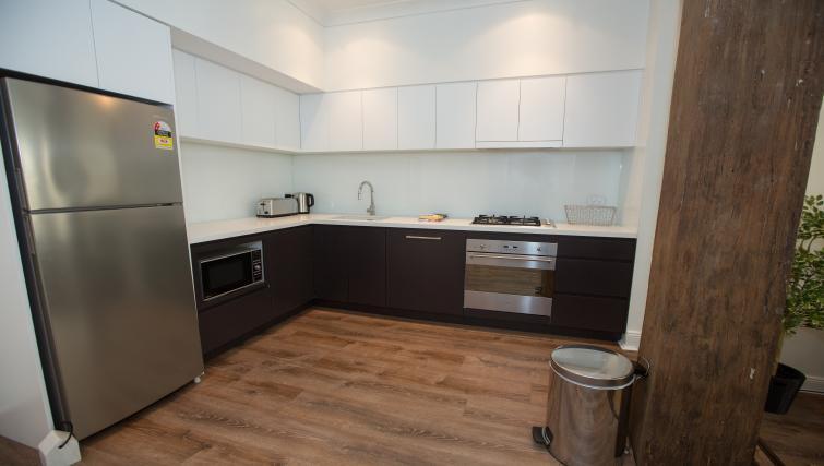 Kitchen at Abercrombie Apartment - Citybase Apartments