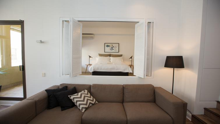 Bedroom at Abercrombie Apartment - Citybase Apartments