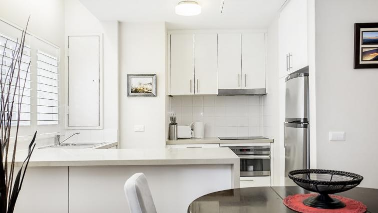 Kitchen at the Cliveden Apartments - Citybase Apartments