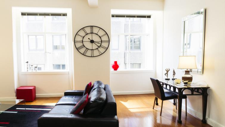 Living room at the Cliveden Apartments - Citybase Apartments