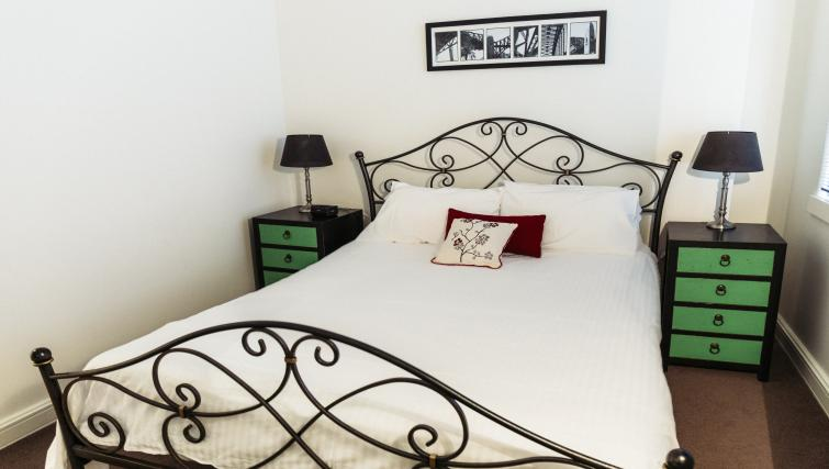 Bedroom at the Cliveden Apartments - Citybase Apartments
