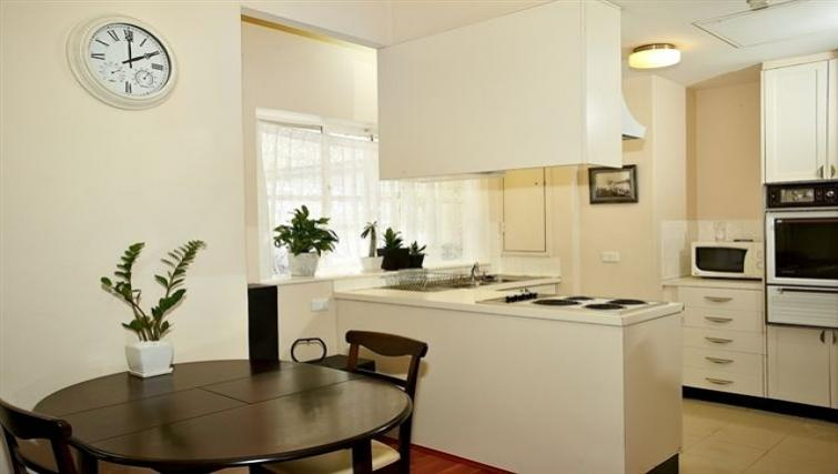 Kitchen space at the Cliveden Apartments - Citybase Apartments