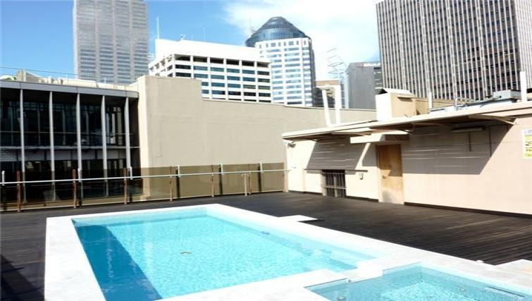 Pool at the Cliveden Apartments - Citybase Apartments