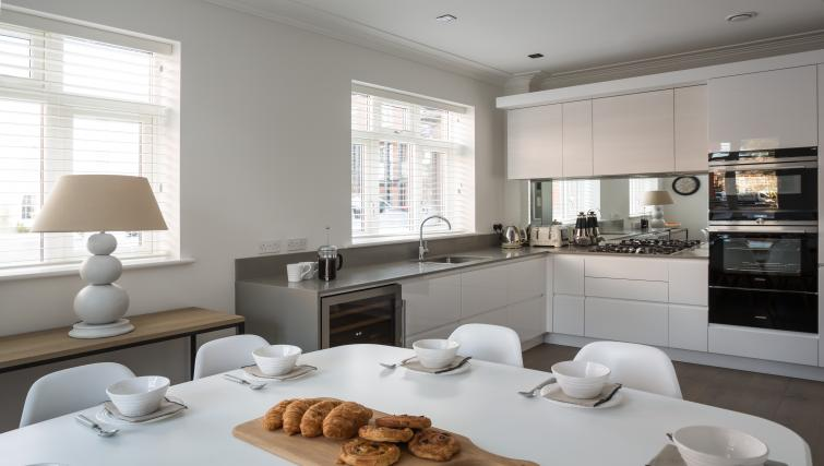 Kitchen at the Egerton Drive House - Citybase Apartments