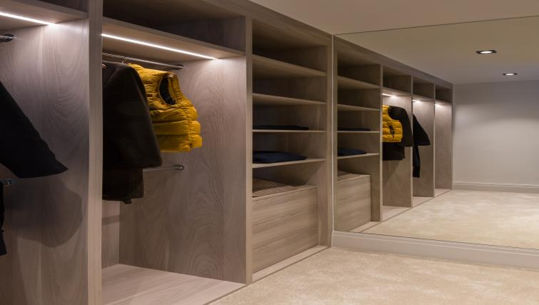 Wardrobe at the Egerton Drive House - Citybase Apartments