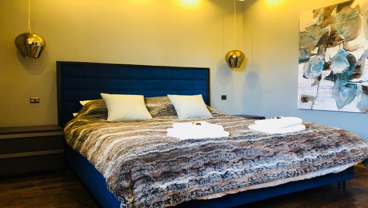Bedroom at South Fredrick Glasgow City Centre Apartment - Citybase Apartments