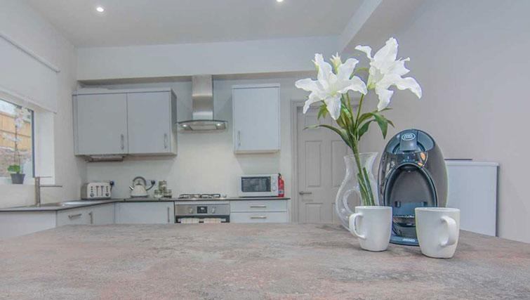 Kitchen facilities at Priory Road Apartment - Citybase Apartments